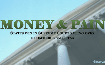 Money & Pain: The New Sales Tax Supreme Court Decision