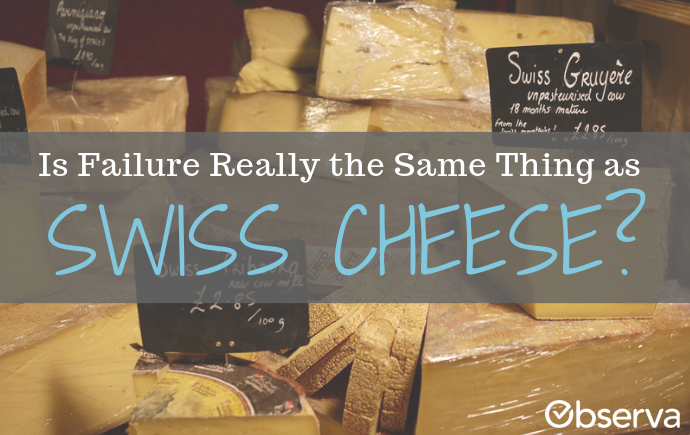 Is Failure Really the Same Thing as Swiss Cheese?