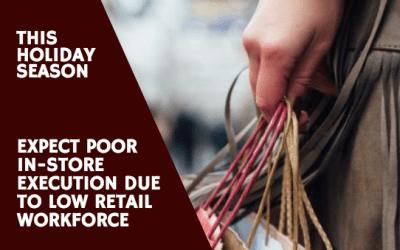 Low Retail Workforce this Holiday Season